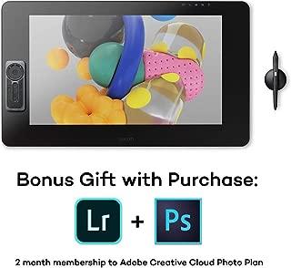 Wacom Cintiq Pro 24 Creative Pen Display – 4K graphic drawing monitor with 8192 pen pressure and 99% Adobe RGB