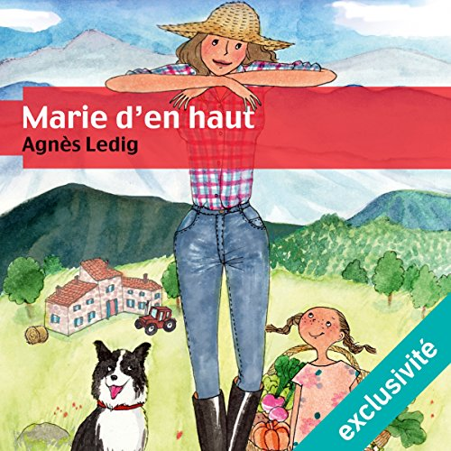 Marie d'en haut audiobook cover art