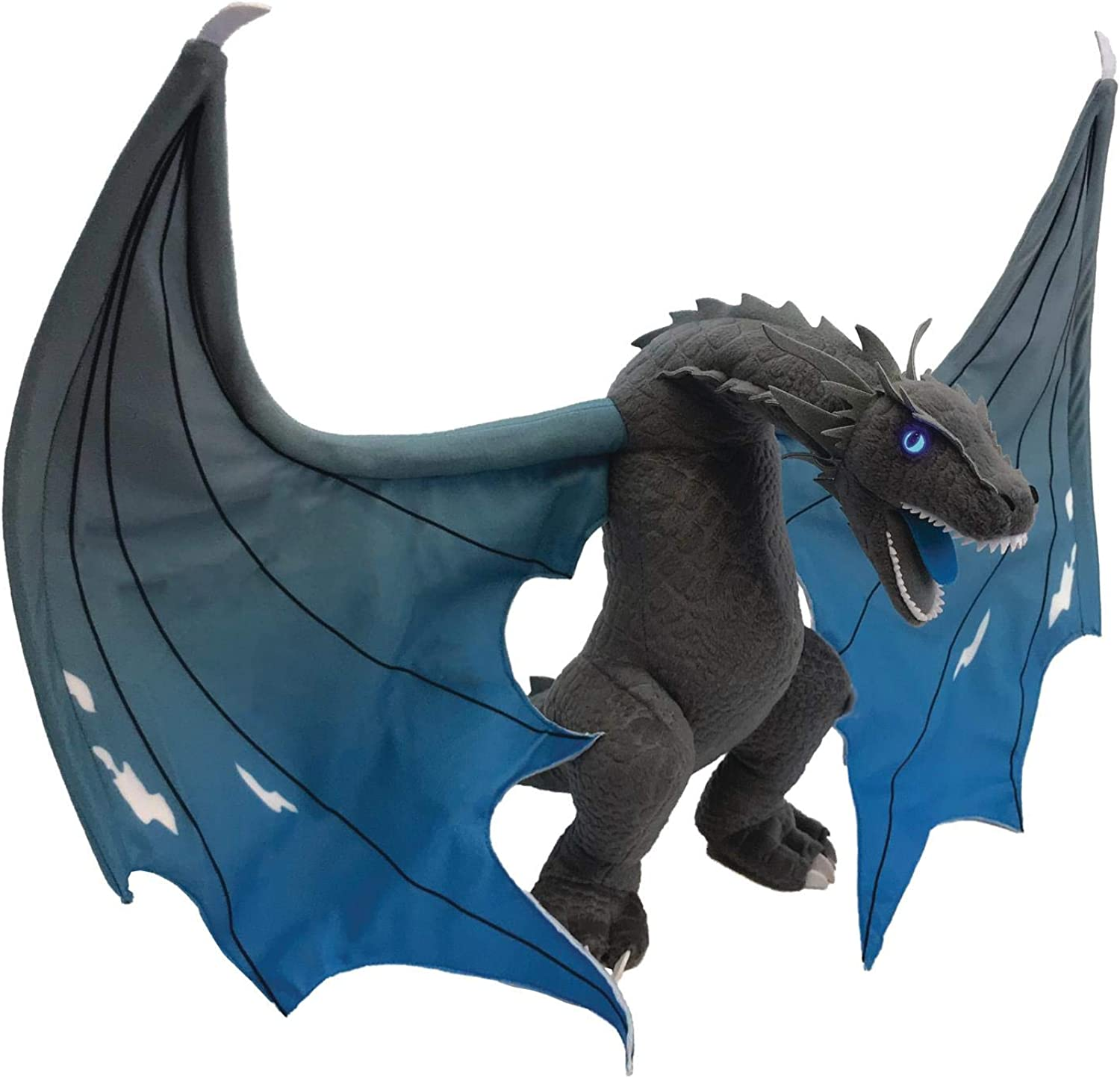 Factory Entertainment Game of Thrones ICY Viserion Jumbo Dragon Plush, Multicolor
