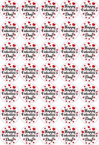 Happy Valentine´s Day - Aufkleber für Ihr Geschenk / weiss 35 Vintage Design / Labels / Stickers /Liebling / zum aufkleben / Dekoration / Liebe / Love