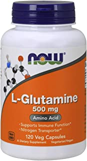 NOW Supplements, L-Glutamine 500 mg, Amino Acid, 120 Capsules