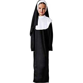 Costumizate! Disfraz de Monja Talla 3-4 Especial para niños ...