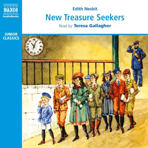 New Treasure Seekers audiobook cover art