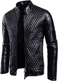 5b428596fd2015 Moxishop Hommes Printemps Nouvelle Mince Mode Moto Motard Grande Taille  Super Doux Veste de Cuir en