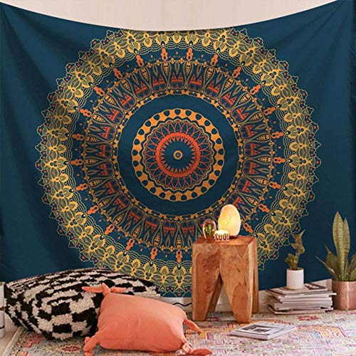 Tapiz de mandala indio colgante de pared serie mandala impresión tapiz para el hogar tapiz decorativo para colgar en la pared