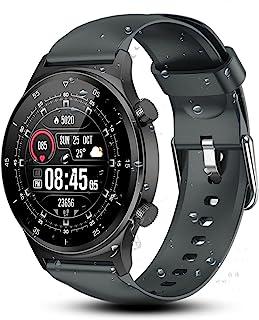 Smartwatch Pulsera Inteligente, Reloj Inteligente Pantalla Táctil Completa Impermeable IP67, Con Pulsómetro y Presión Arte...