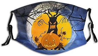 Halloween pumpor sublimering personlig munärm återanvändbar munskydd