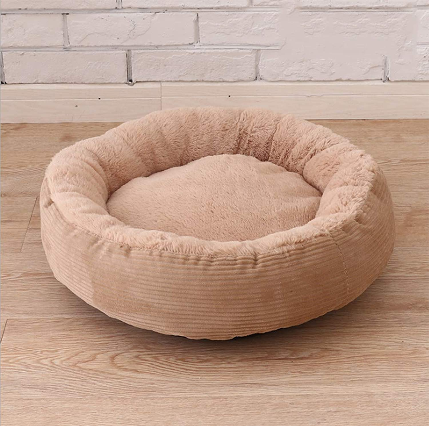 2018 Autumn and Winter New Pet Nest Thick Warm Small and Medium Dogs Can Be Removed and Wash Round Kennel Cat Litter