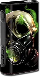 Skin Decal Vinyl Wrap for eLeaf iPower 80W Vape Mod stickers skins cover/ gas mask skeleton