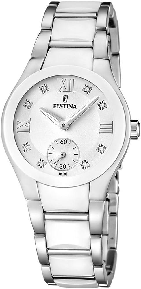 Festina orologio analogico da donna in acciaio inossidabile F16588/2