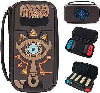 SHEAWA Nintendo Switch ケース 保護ケース 任天堂ニンテンドー スイッチ収納バッグ ゲームカード(12枚)/ケーブル/イヤホンなど小物収納
