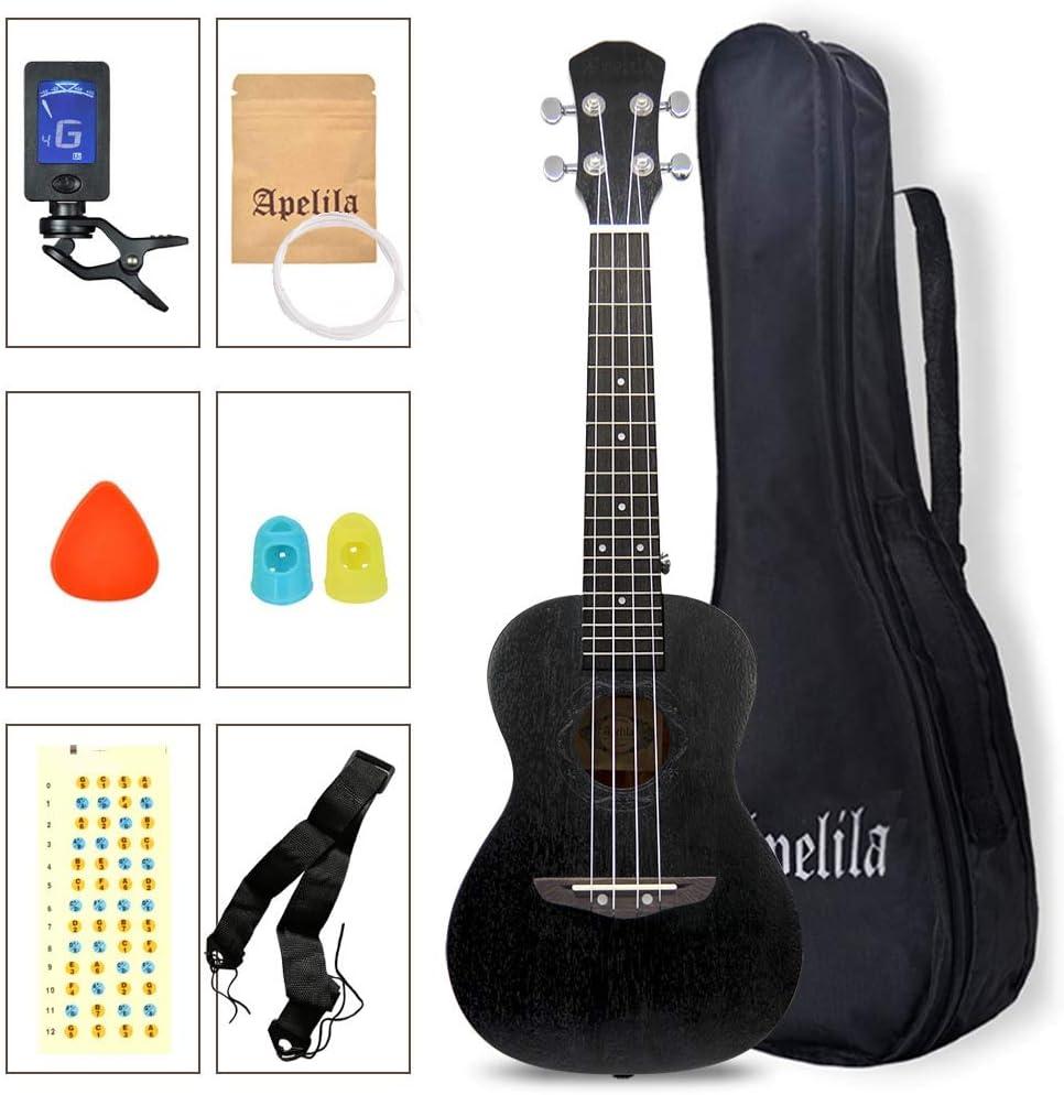 Concert Ukulele-23 Max 51% OFF Inexpensive inch Mahogany Instru Ukulele Acoustic