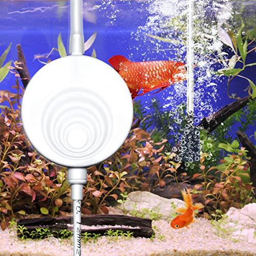 ELETEK Superleise Superminiluftpumpe mit elektromagnetische Welle, die Luftpumpe für das Aquarium, Sauerstoff-Pumpe 50 Liter