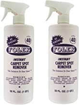Folex Instant Carpet Spot Remover (32oz, Pack of 2)