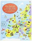 Atlas ilustrado de Europa con pegatinas (Libros de pegatinas (Referencia))