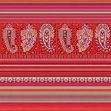 Bassetti Manta de algodón Rojo 140 x 190 cm