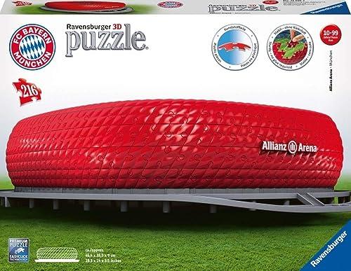 Unbekannt Ravensburger 125265 Puzzle 3D Allianz Arena 216 Teile