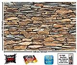Great Art Mur en Pierres d ́Ardoise Photo imurale - XXL Image Murale Exclusif Mur en...