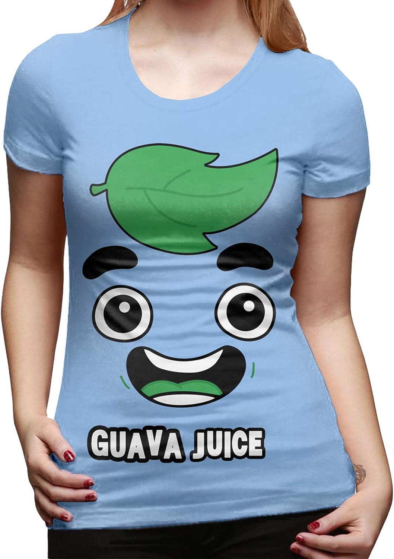 Algodón Guayaba Juice Face Camiseta básica de manga corta ...