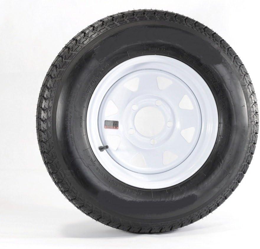Popularity Price reduction 2-Pk Trailer Tire On Rim Radial ST175 80 Spo 175 5-4.5 LRD 80R13