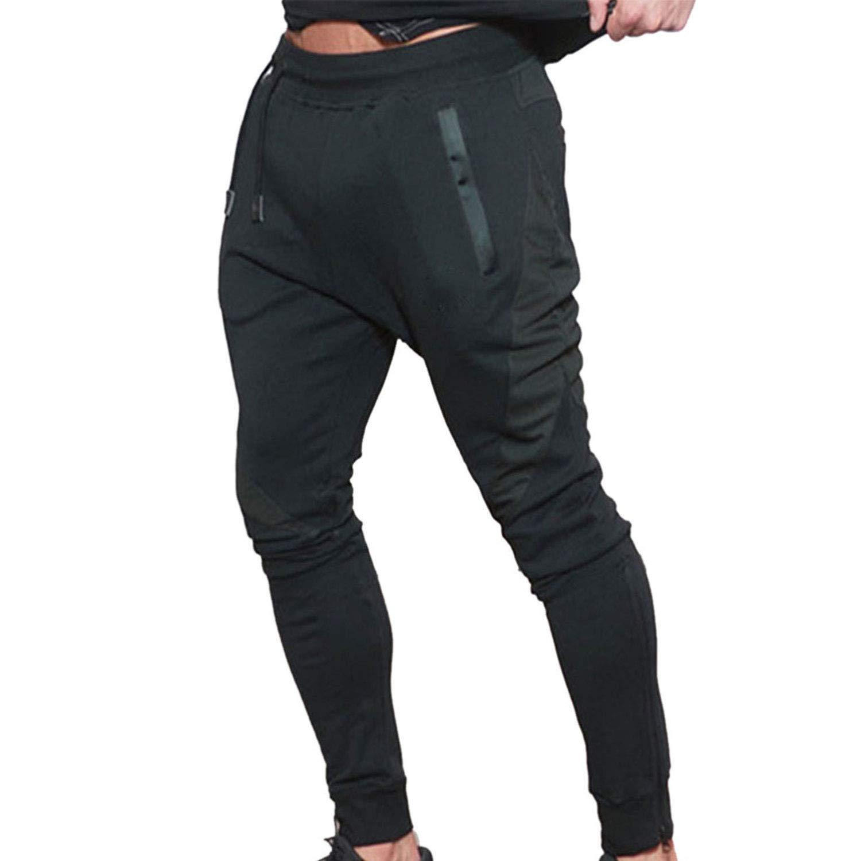 Naudamp Pantalón de chándal para Hombre Pantalones Deportivos ...