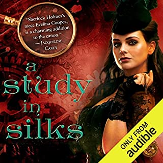 A Study in Silks                   By:                                                                                                                                 Emma Jane Holloway                               Narrated by:                                                                                                                                 Angele Masters                      Length: 21 hrs and 38 mins     341 ratings     Overall 4.1