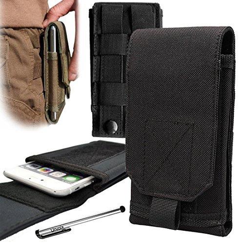 Urvoix (TM)Funda de silicona para Samsung Galaxy S7Edge, S6Edge +, Note 5, Note Edge, Note 4, Note 3, Note 2, ideal para usar al aire libre y senderismo, bolsa multifunción
