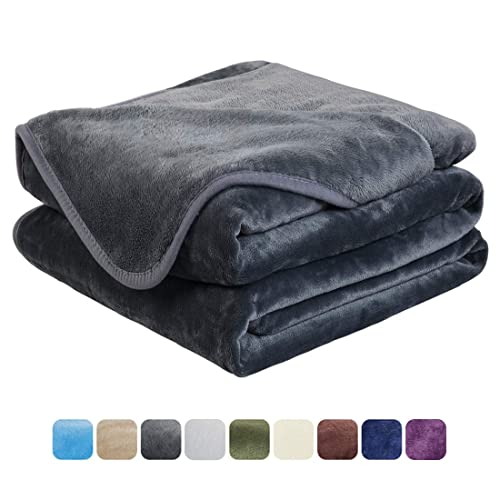 EASELAND Soft King Size Blanket All Season Winter Warm Fuzzy Microplush  Lightweight Thermal Fleece Blankets for ee1c7a3e3