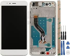 Ocolor di riparazione e sostituzione per Huawei P10 Lite,LCD Display + Touch Screen Digitizer con Utensili Inclusi (Bianca +telaio)