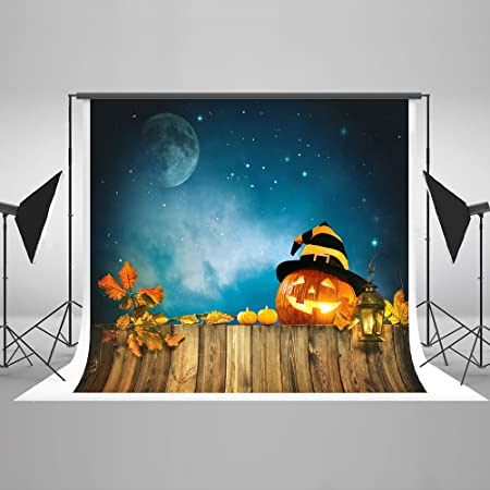 Kate 8/×8ft Halloween Background Grave Tomb Backdrop Horror Night Forest Hallowmas Photo Studio Booth Props for Photography
