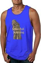 Cumque Tank Tops Jethro Tull Aqualung Casual Sleeveless Vest Underwaist Jersey Shirts Sport Tee for Mens Black