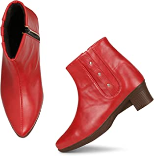 FASHIMO Zipper Boots for Women and Girls