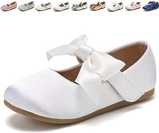 CIOR Toddler Girls Ballet Flats Shoes Ballerina Jane Mary...