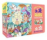 Piece It Together Family Puzzle: Purrmaid Paradise: (60-Piece Puzzle for Kids and Toddlers Ages 2–5. Cat and Kitty Puzzle Artwork)