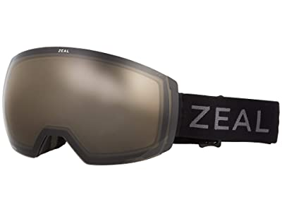 Zeal Optics Portal XL (Dark Night w/ Automatic+ GB + Persimmon Sky Blue Lens) Goggles