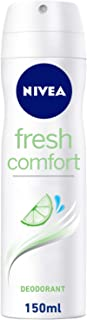 NIVEA, Deodorant Female, Fresh Comfort, Spray, 150ml