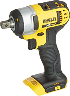 DEWALT 20V MAX Cordless Impact Wrench with Detent Pin, 1/2-Inch, Tool Only (DCF880B)