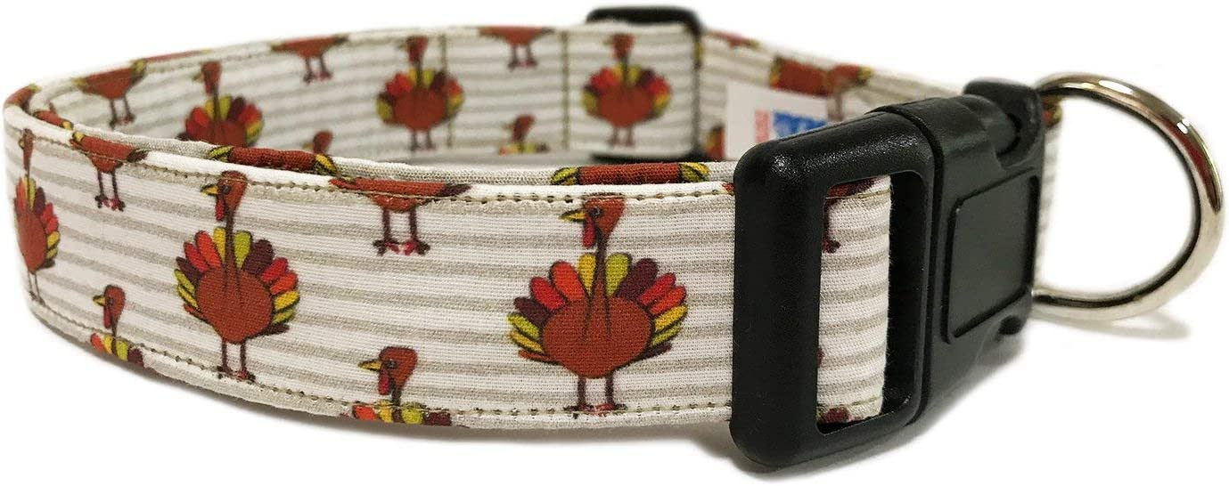 CritterGear Adjustable 2021 spring and summer new Dog Collar NEW in Thanksgiving Turkey Holiday