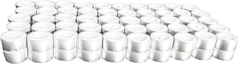 H-LINE 8 Stunden Brenndauer 100er Teelichter Kerze Teelicht *NEU /& OVP*