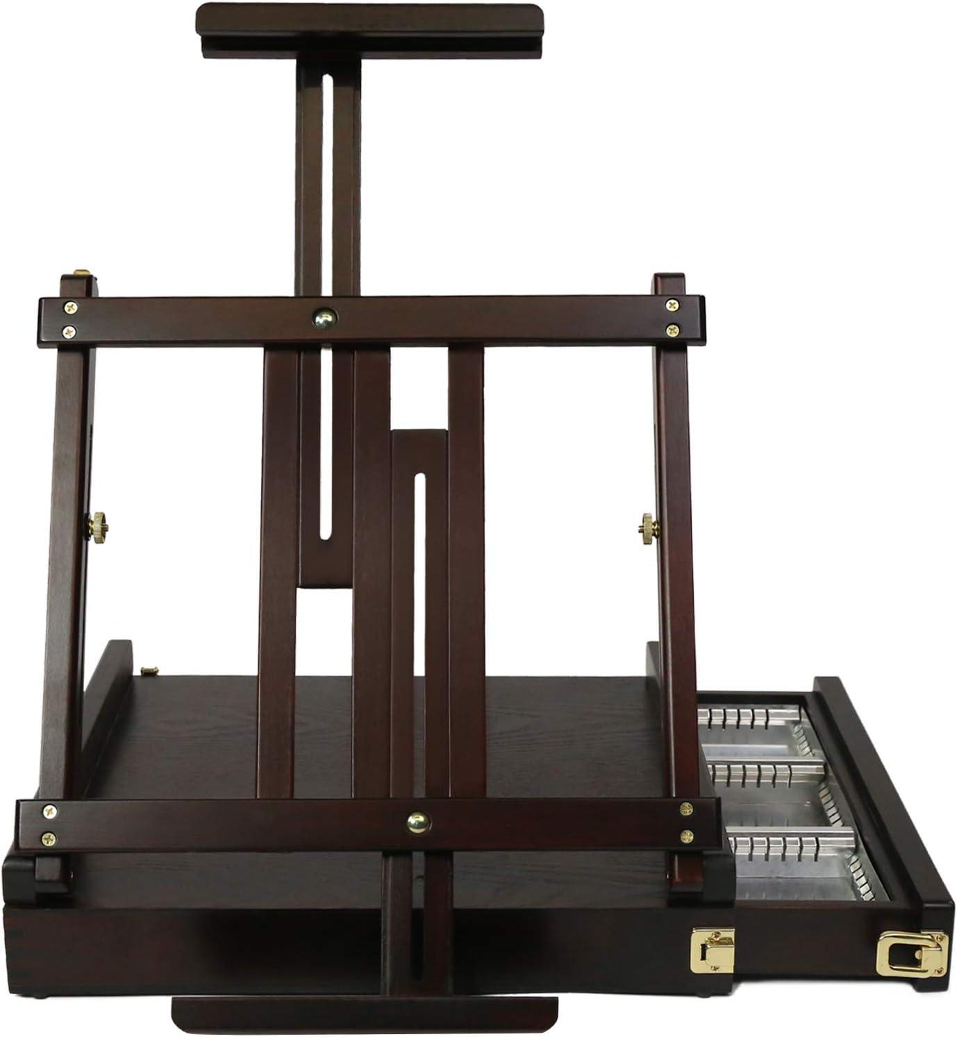 Popular standard MEEDEN Studio Sketchbox Table Easel with Special price - Metal Ad Drawer Lined