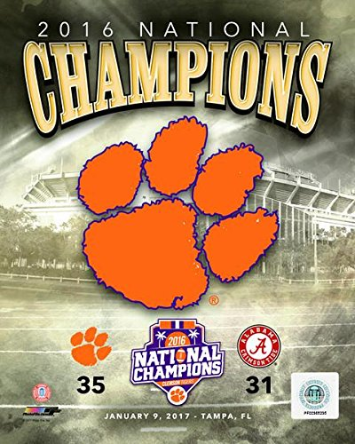 Clemson Tigers NCAA 8x10 Photograph Team Logo