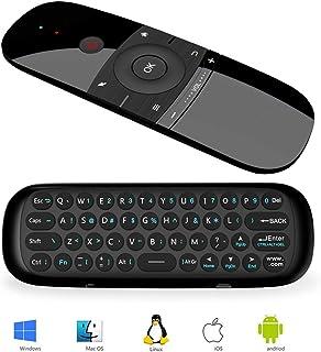 Ratón de Aire, Teclado Inalámbrico y Ratón para Android TV Box, Smart TV, Ordenador, portátil, proyector, HTPC, IPTV, Repr...