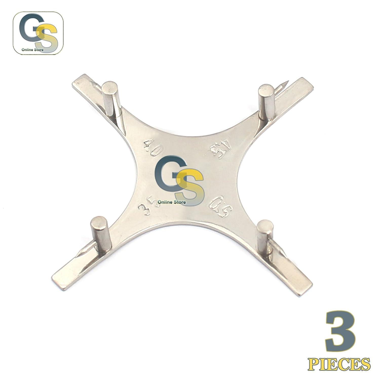G.S 3 PCS Boone Height 5 popular Den 3.5MM-4MM-4.5MM-5MM store Gauge Orthodontic