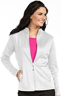 Med Couture Women's Bonded Fleece Med Tech Warm up Jacket