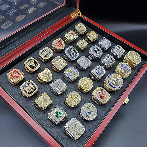 YANGLIXIA Baloncesto 1990-2019 Ningones de Campeonato Colección de campeones de Todos los Tiempos. Conjunto de 30 Piezas 11#
