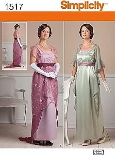 Best simplicity titanic dress pattern Reviews