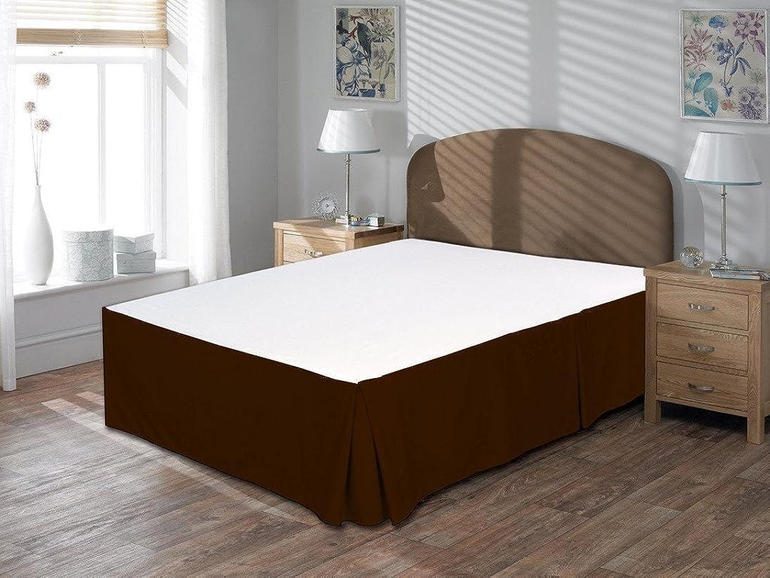 アクセントノーブル避けられない400スレッドカウントに1pc bed-skirt 15?