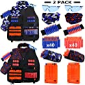 2-Pack UWANTME Kids Tactical Vest Kit