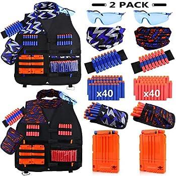 2-Pack UWANTME Kids Tactical Vest Kit