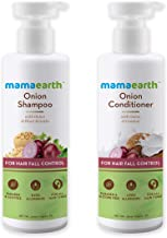 Mamaearth Onion Anti Hairfall Combo (Shampoo and Conditioner)- 250 ml each